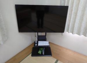 テレビの設置と同時にデザインアンテナ取り付け